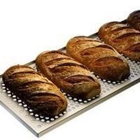 Chariot à pain y compris 10 plaques ventilées