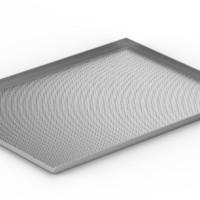 Platine perforée 60x40 3bords90°